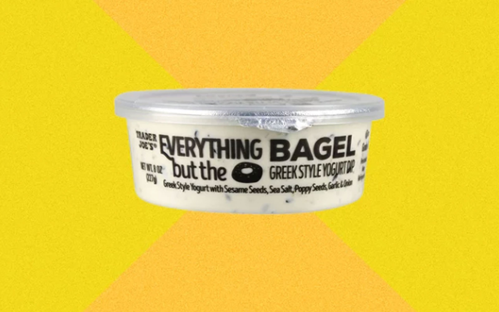 Trader Joe's Released an  Everything but the Bagel  Dip—and It Only Has 60 Calories