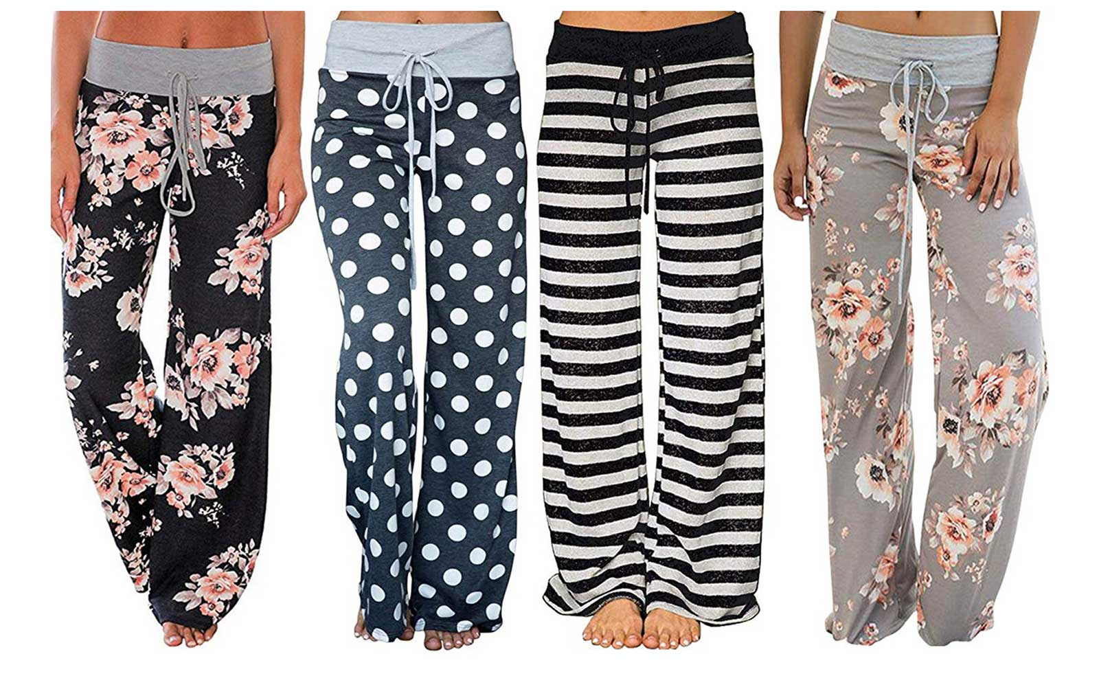 These Cute and Comfy Lounge Pants Have More Than 2,000 Rave Reviews on Amazon — and They Start at $8