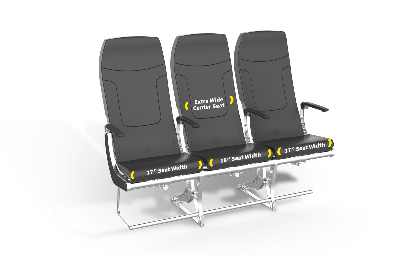 Spirit Airlines Is Upgrading New Planes With Roomier, Comfier Seats — and There's a Benefit to Sitting in the Middle