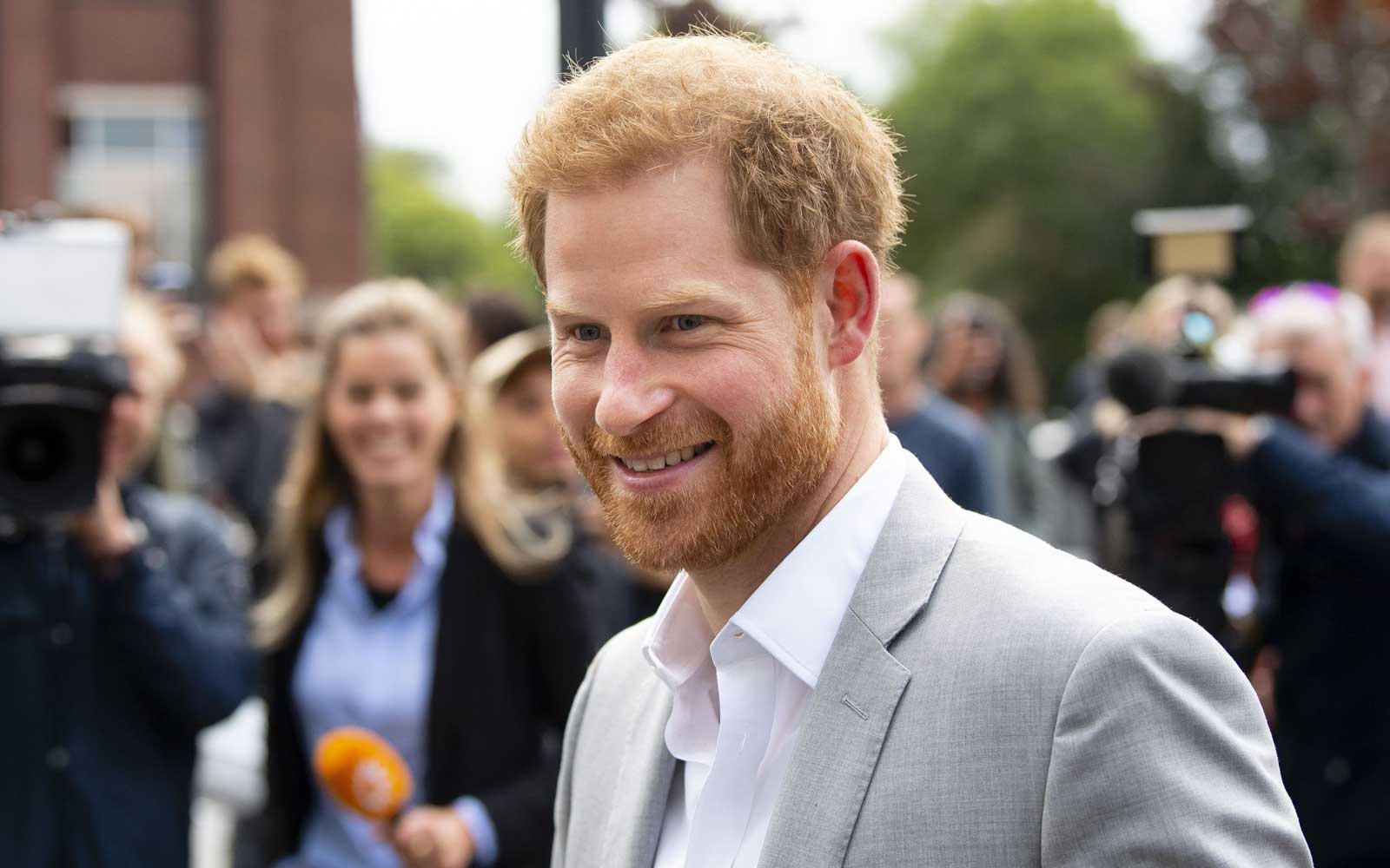 Prince Harry Jokes He Got the 'Best Night's Sleep' Since Archie's Arrival During Work Trip