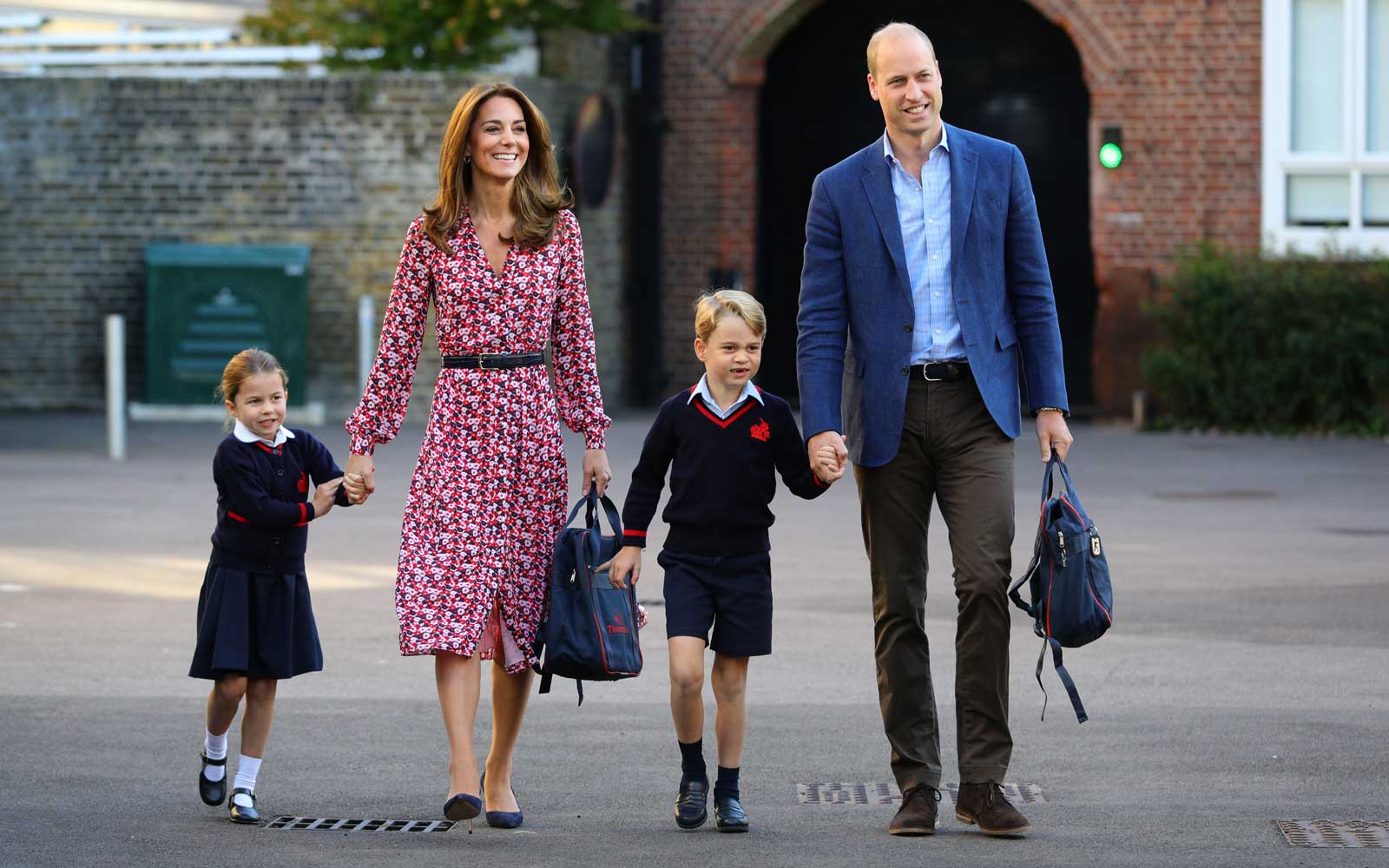 Royal Family - Duke and Duchess of Cambridge with Prince George and Princess Charlotte