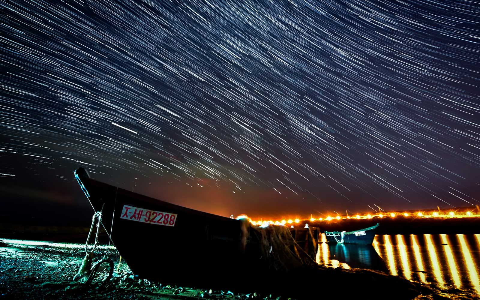 Draconid meteor shower in Russian Far East