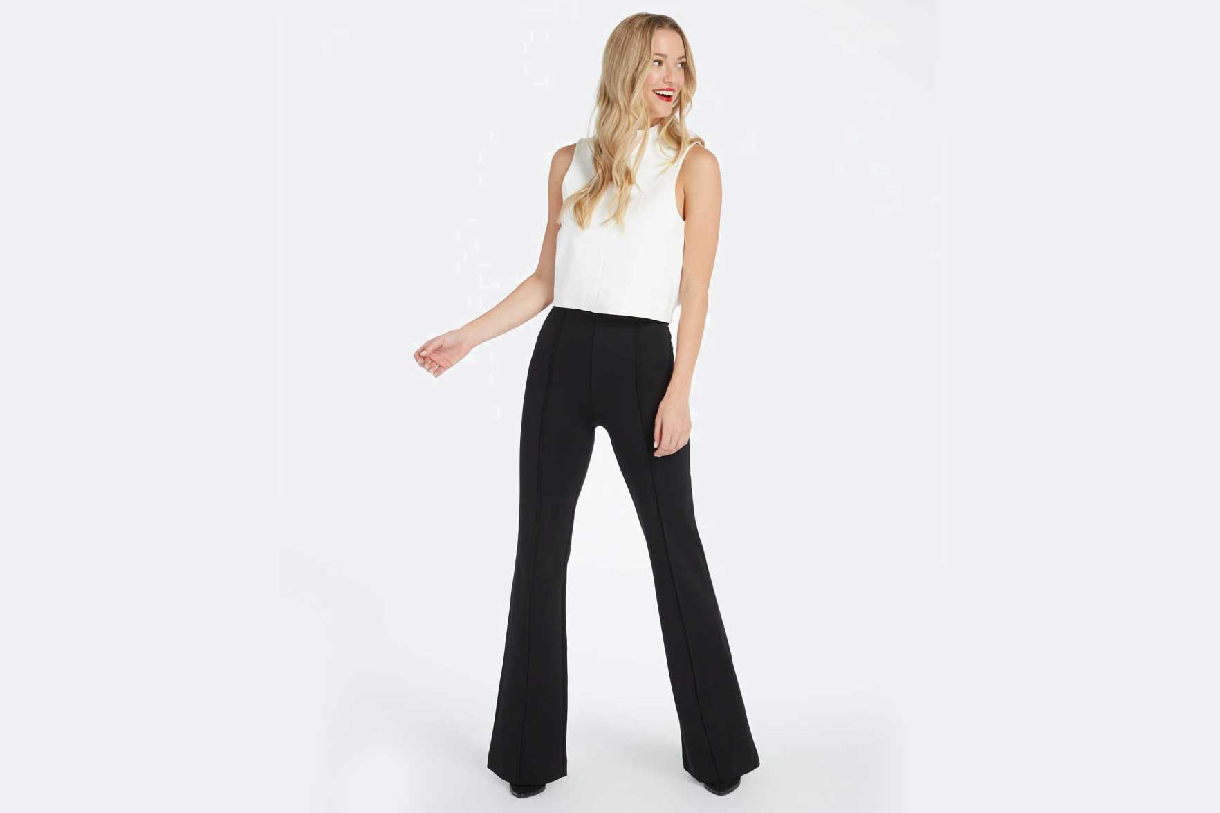 Spanx just created the most comfortable and flattering work pants out there