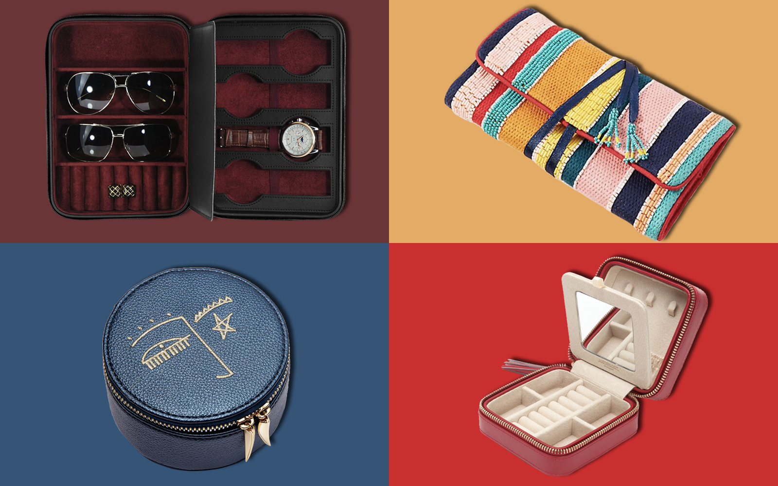 14 Travel Jewelry Cases for Your Next Trip