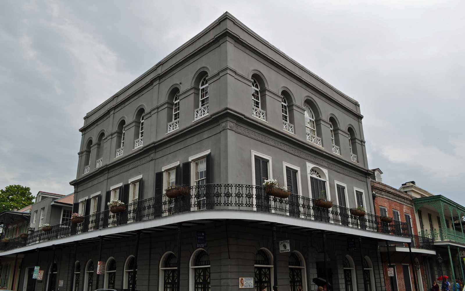 Lalaurie House, one of the most notorious residences in New Orleans