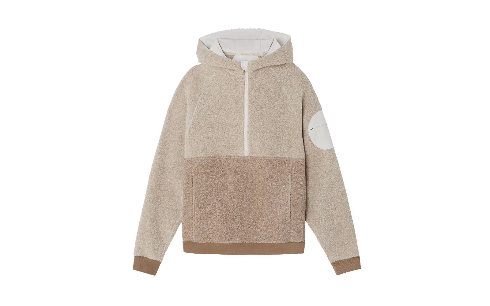 The fleece hoodie that garnered a 20,000-person waitlist is finally back in stock