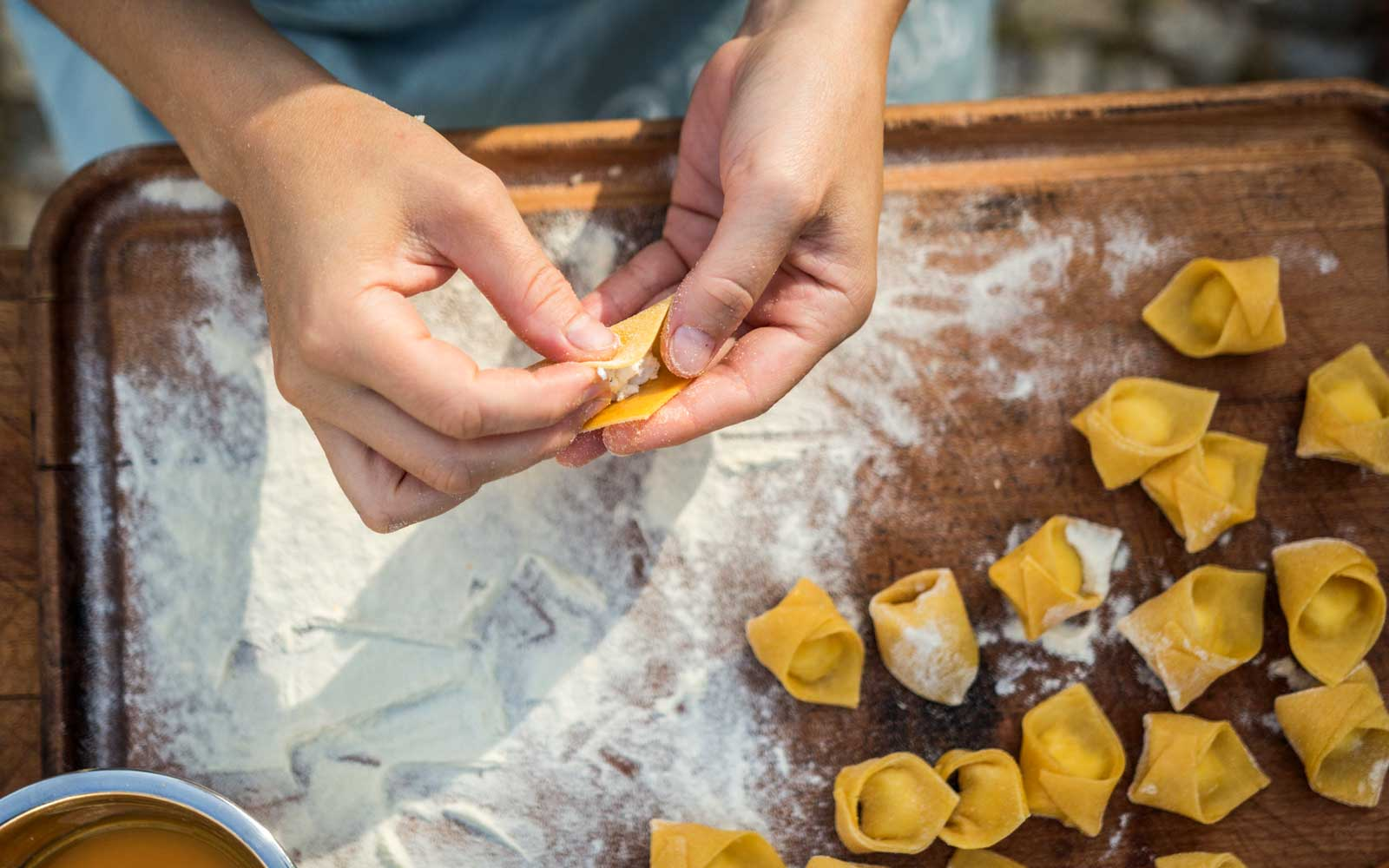 Airbnb Experiences - Pasta Making