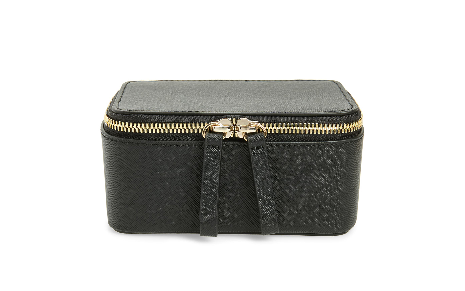 Truffle Privacy Mini Leather Jewelry Case