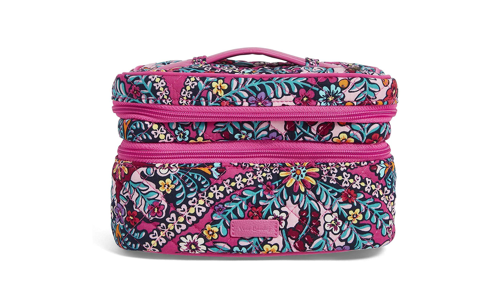 Vera Bradley Iconic Jewelry Train Case