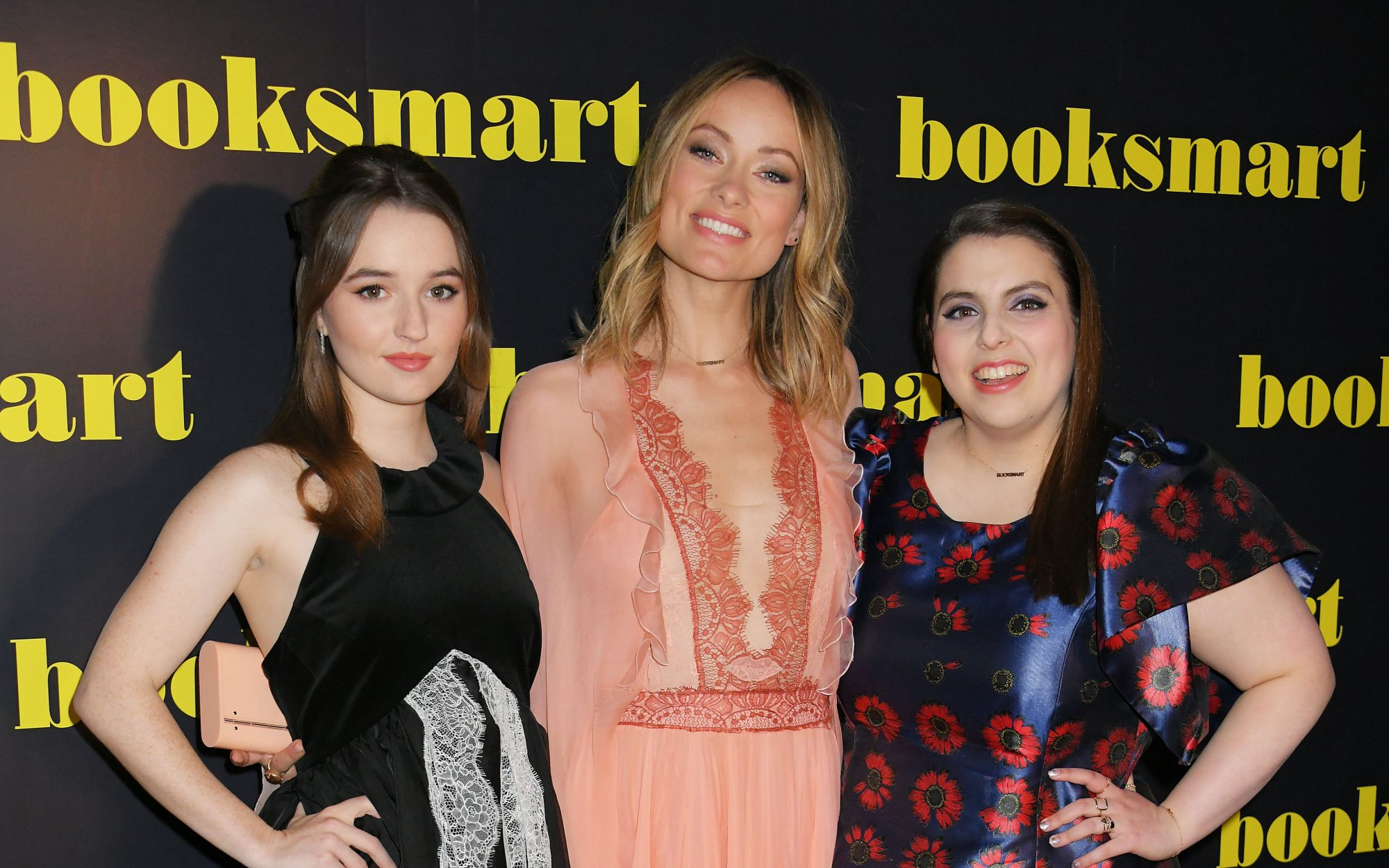 Kaitlyn Dever, Olivia Wilde, and Beanie Feldstein
