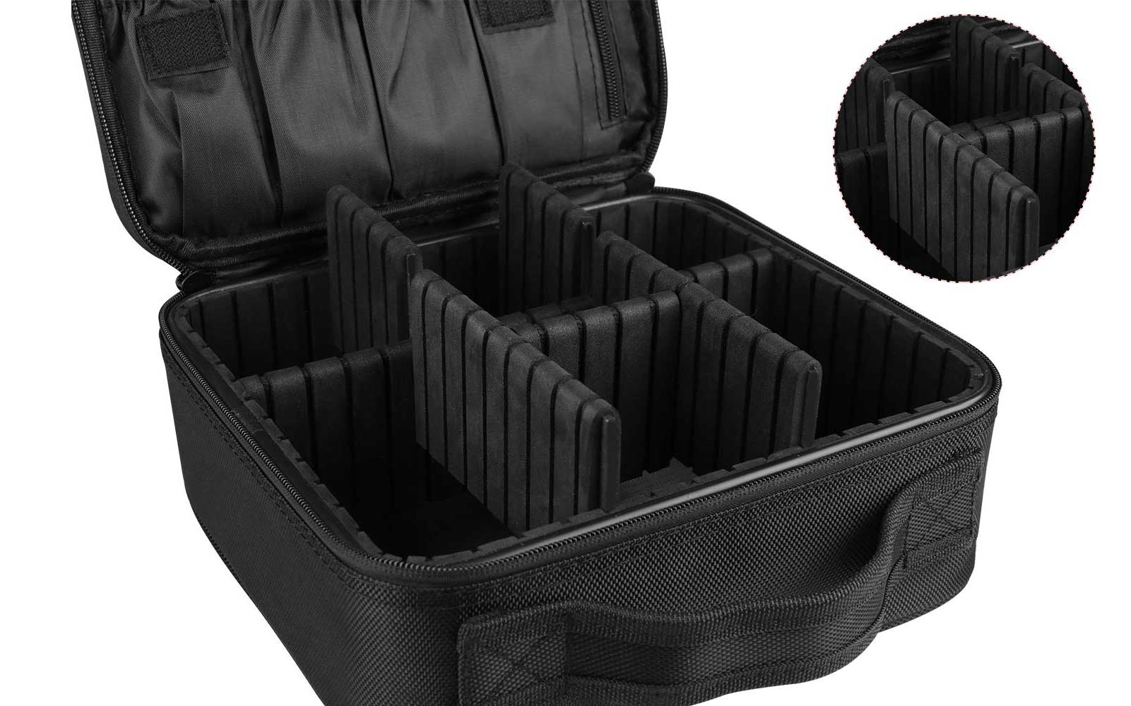 Amazon shoppers are raving about this customizable travel makeup case
