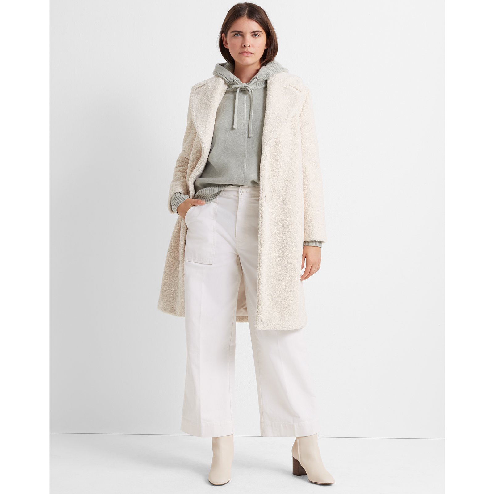 Club Monaco Teddy Coat