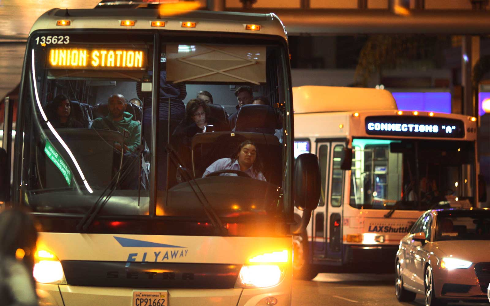 Public Transportation from LAX Airport