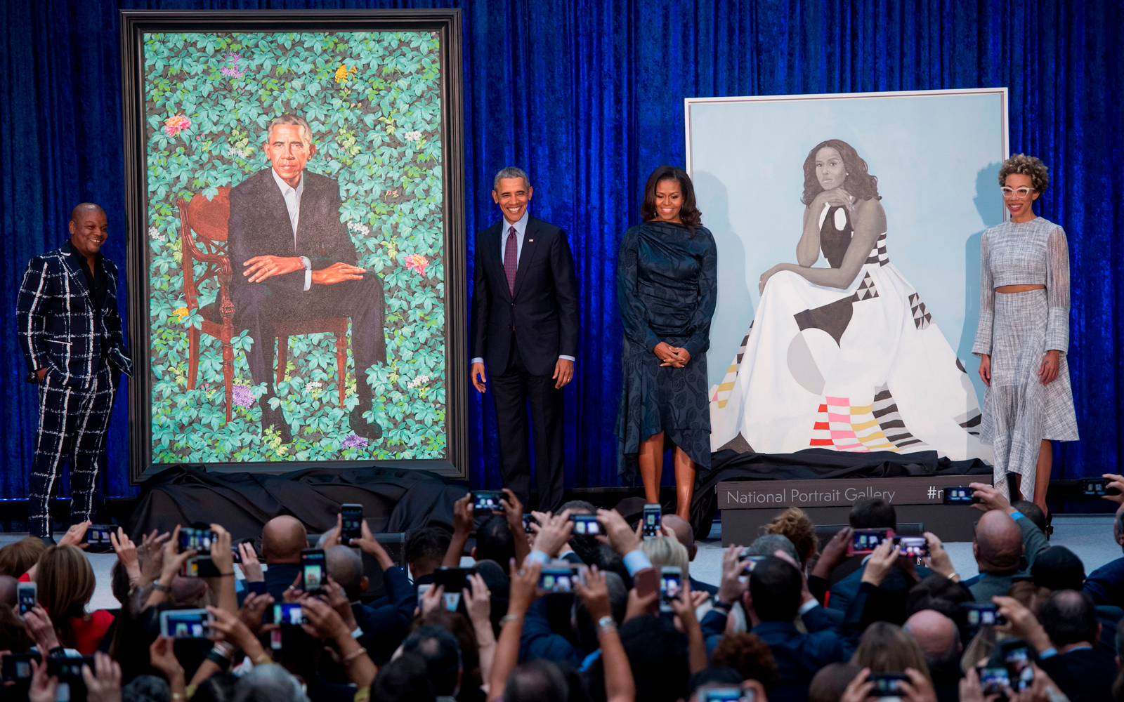 Michelle Obama posted the sweetest Instagram after visiting Barack's presidential portrait