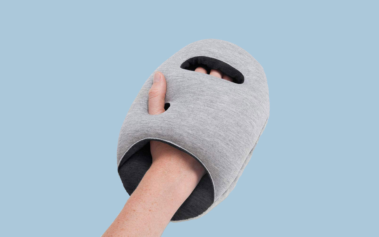 The Ostrich Travel Pillow That Helps Me Fall Asleep Anywhere