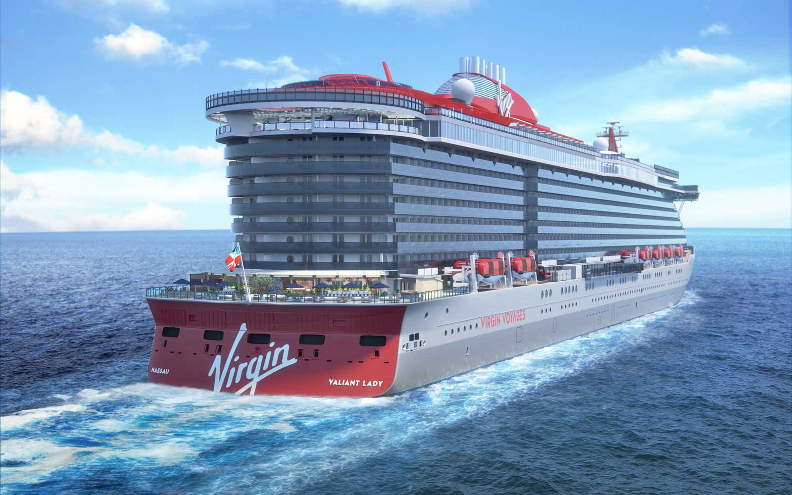 Virgin Voyages - Valiant Lady Ship