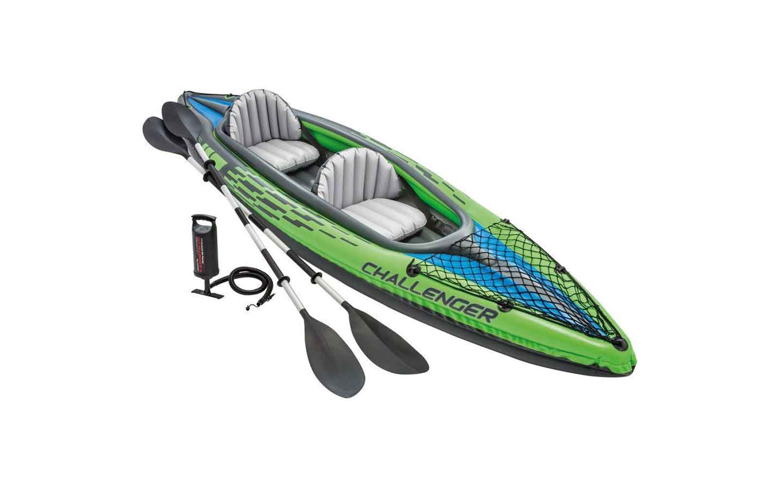 This kayak will fold up and fit in a backpack — and it's under $100 on Amazon right now