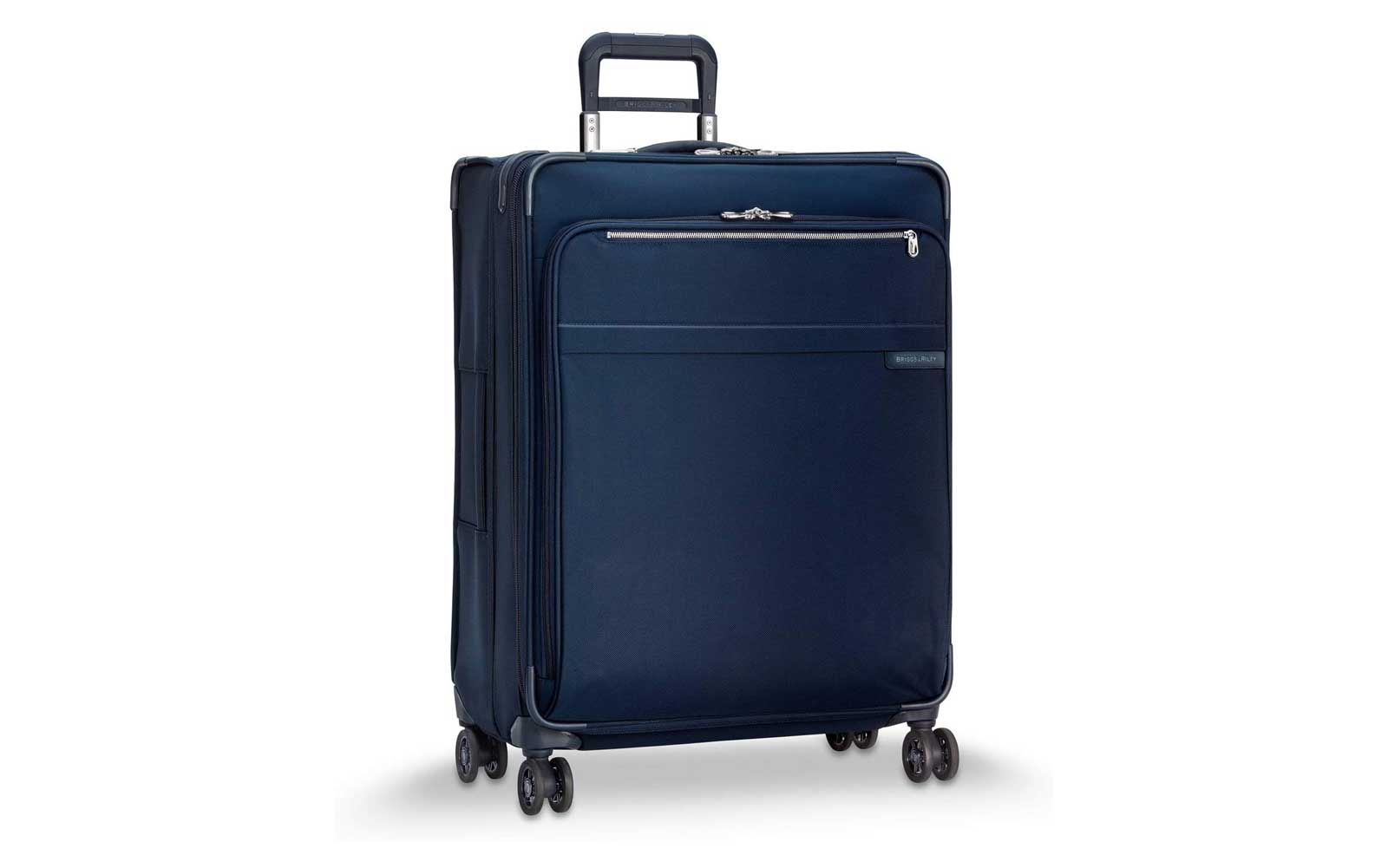 Navy Softside Suitcase