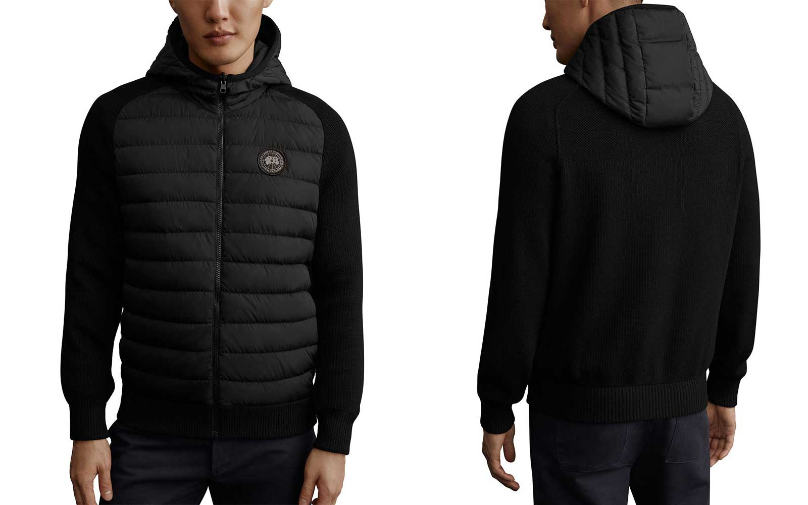 Canada Goose's knitwear will keep you warm — but won't add extra bulk to your wardrobe