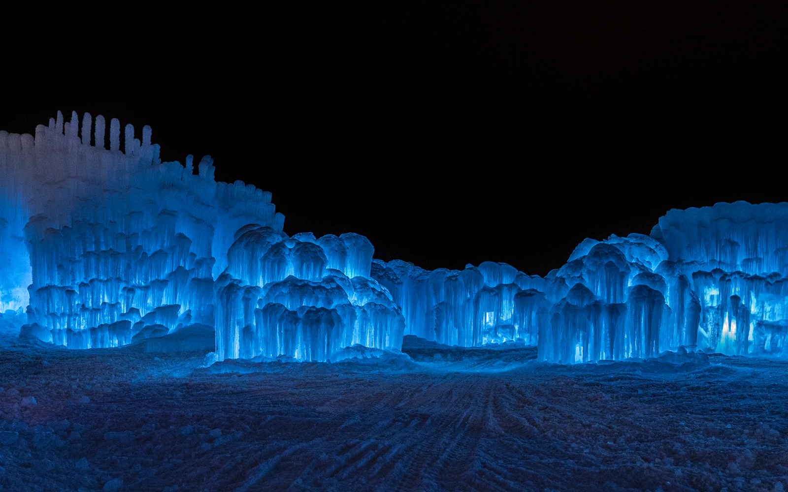 Massive, magical ice castles are opening around the U.S and Canada this winter