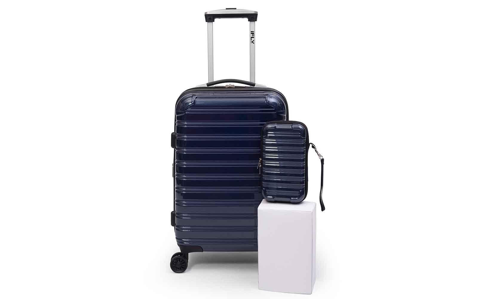 Thousands of travelers are obsessed with this luggage set — and it's on sale