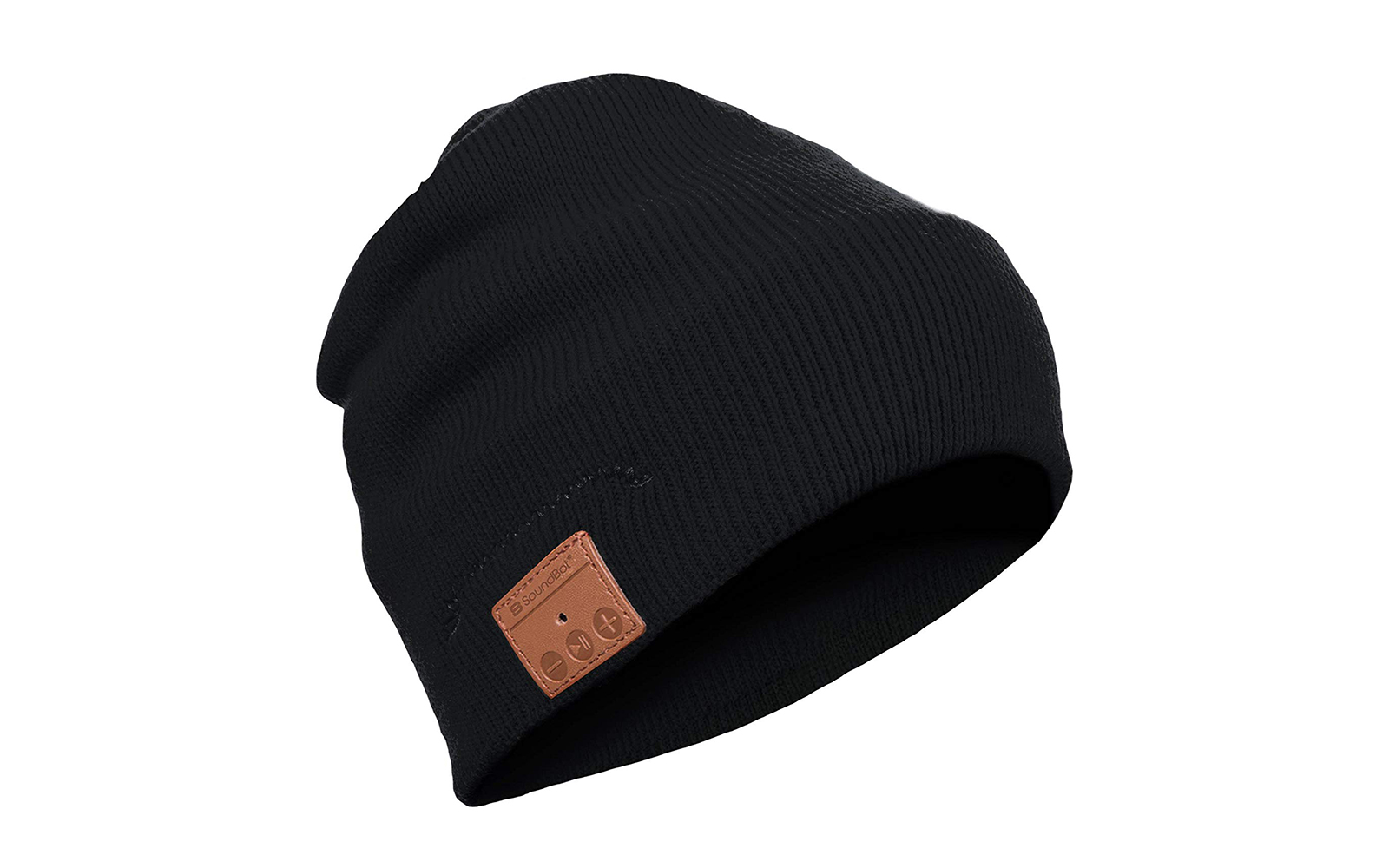 You can listen to music and keep your ears warm with this wireless bluetooth beanie