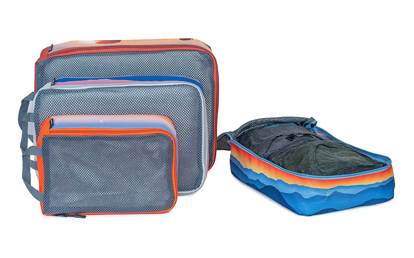 These National Parks-themed packing cubes will keep you organized on your next trip
