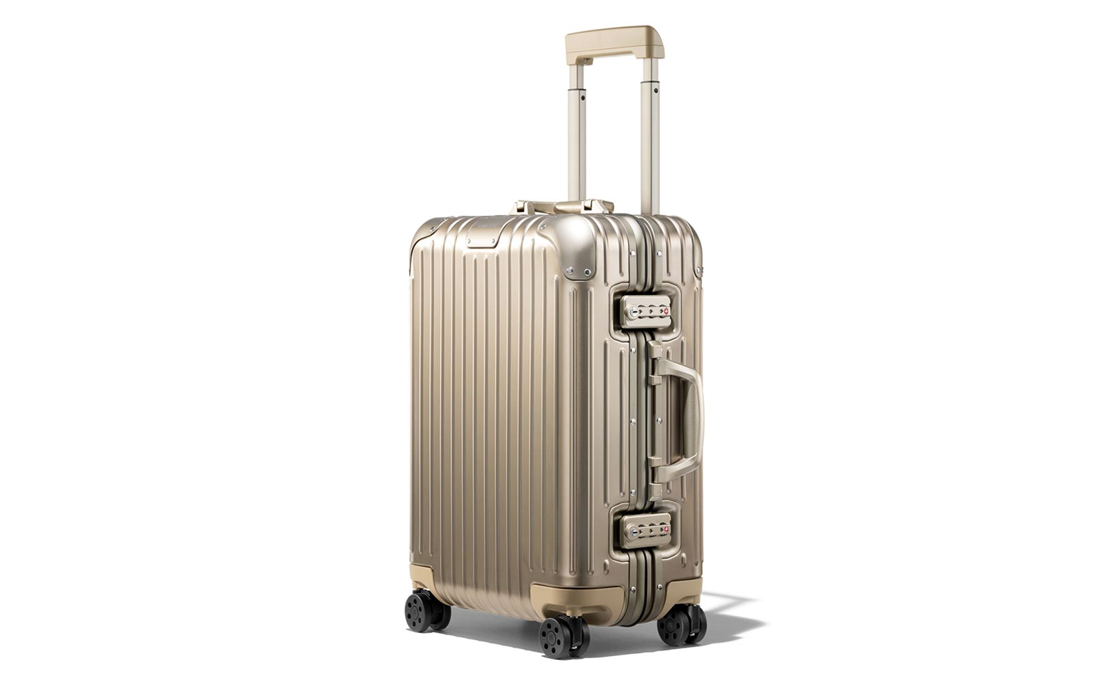 Best Luxury Carry-on: Rimowa Topas Titanium Cabin Multiwheel IATA