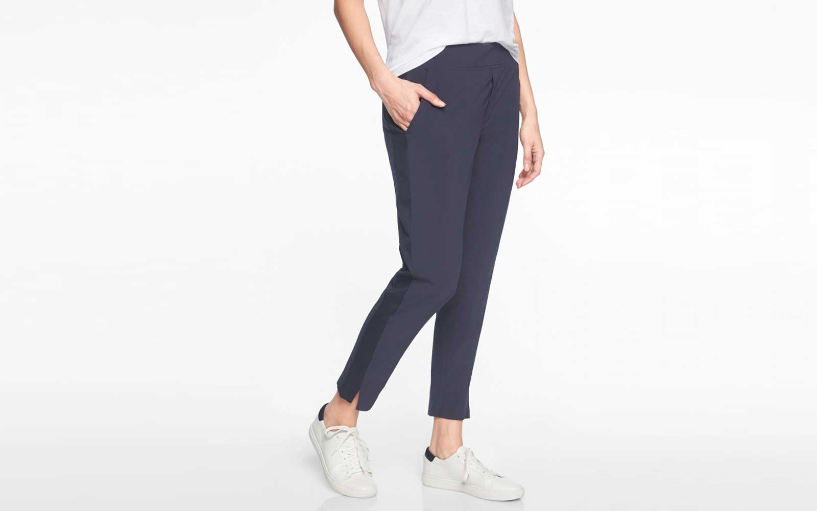 The Best Travel Pants for Women Who Hate Flying in Jeans