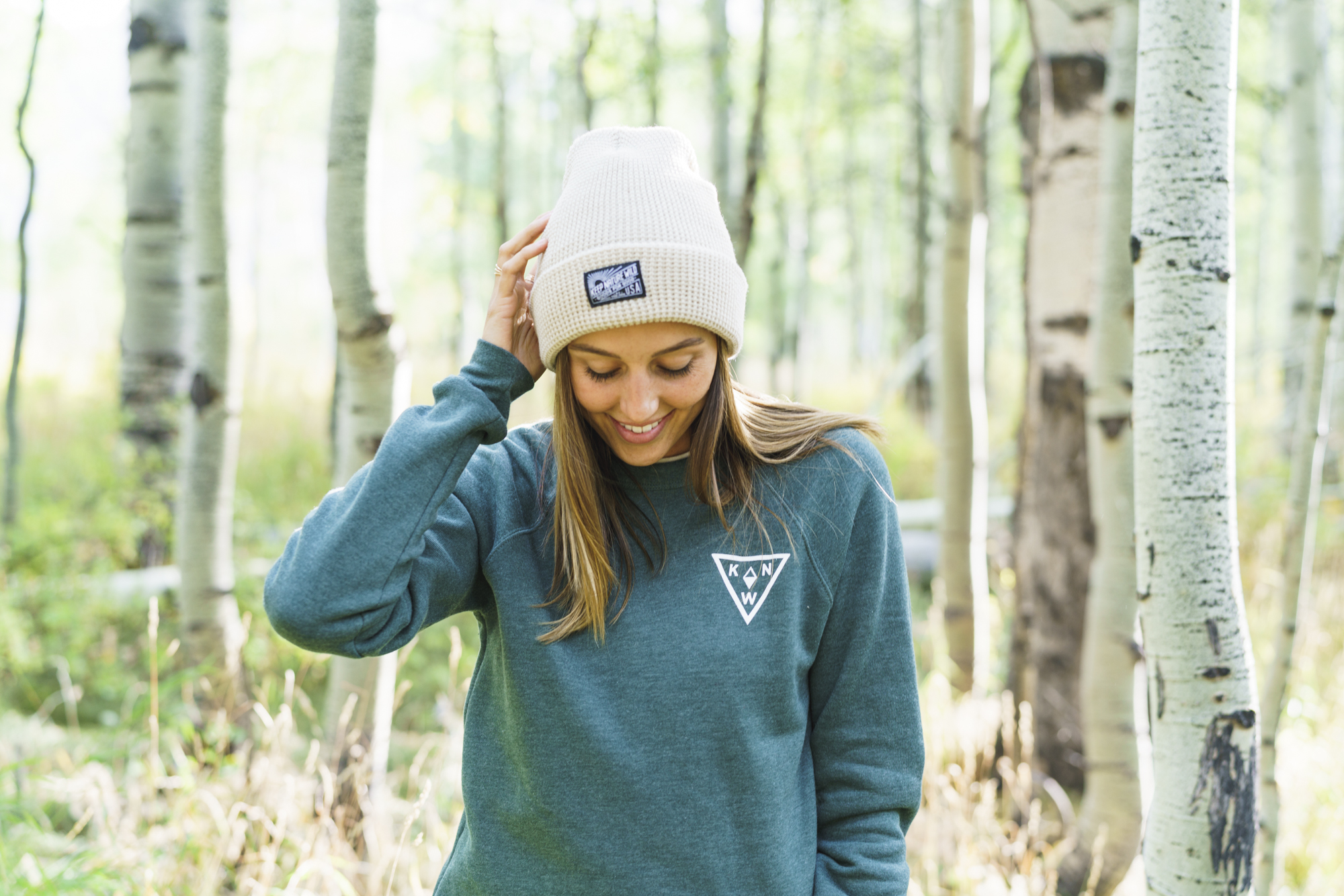 keep nature alive beanie and pullover