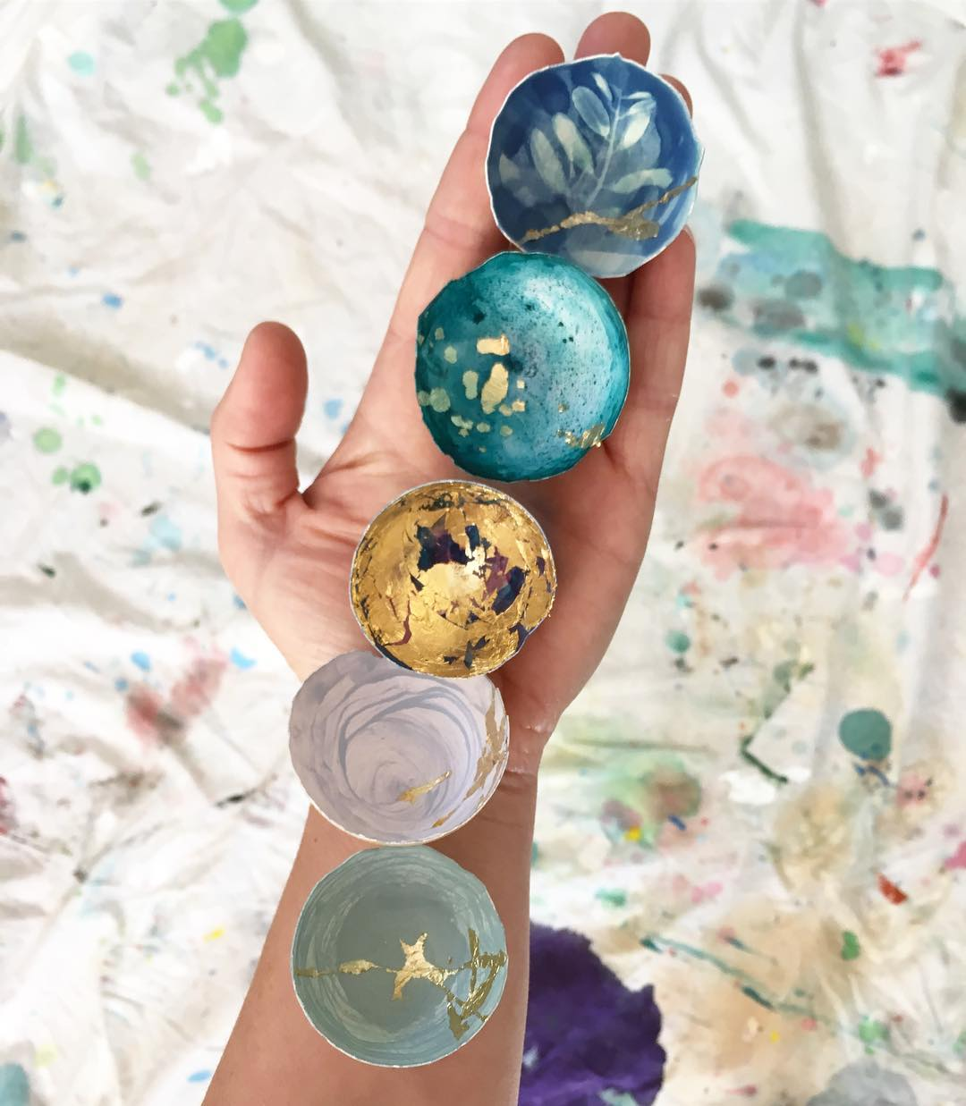 kintsugi eggs elisa sheehan