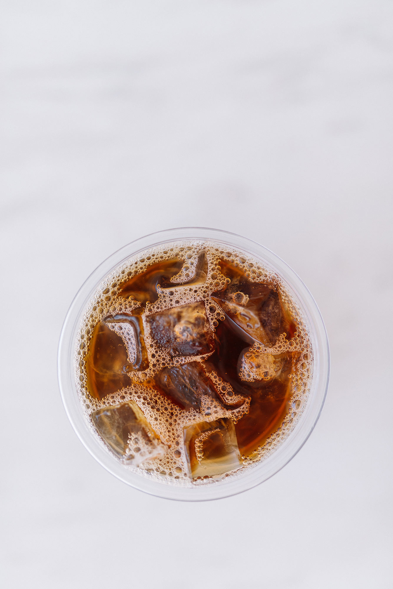 Iced Coffee in a Glass