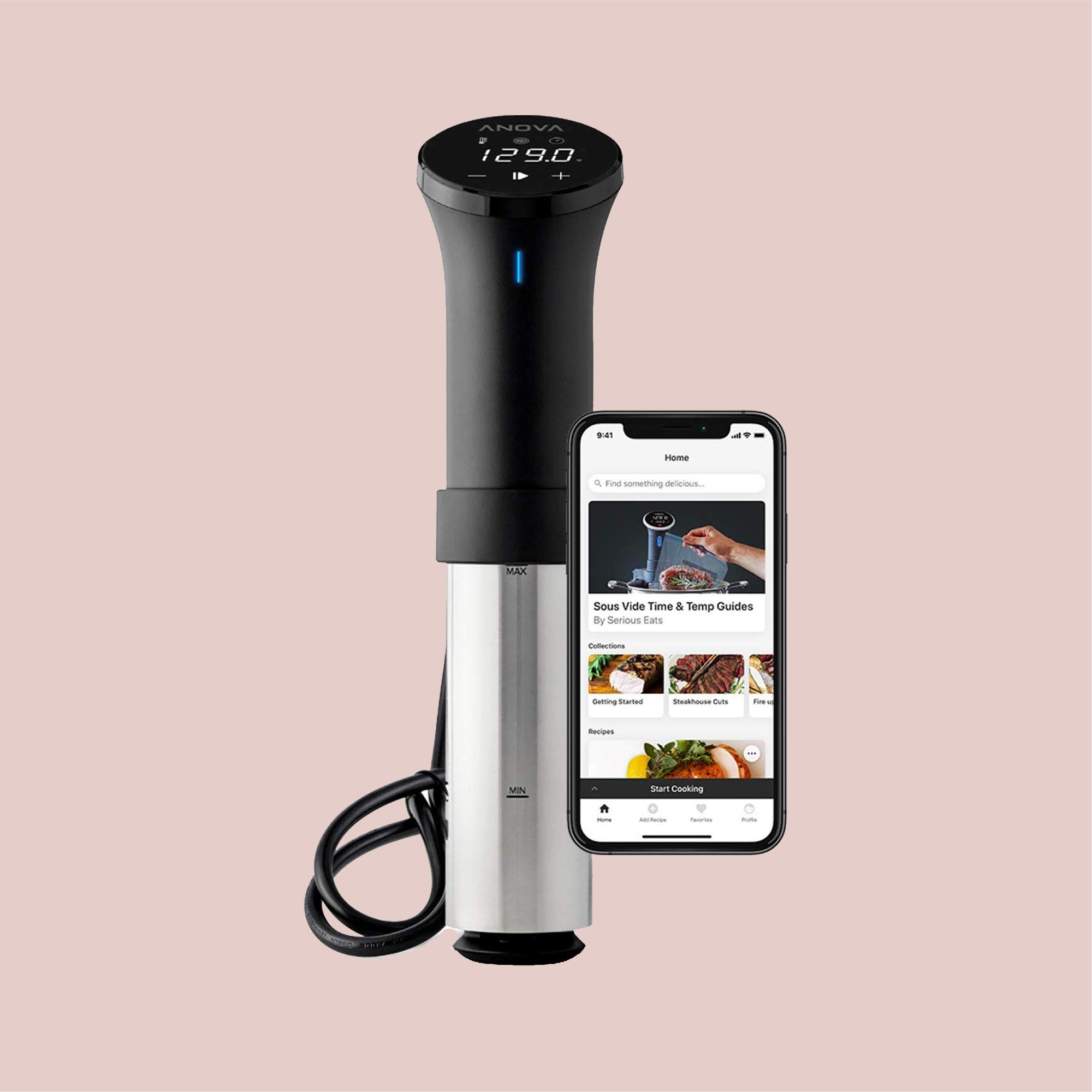 Sous Vide Cooker with Wifi