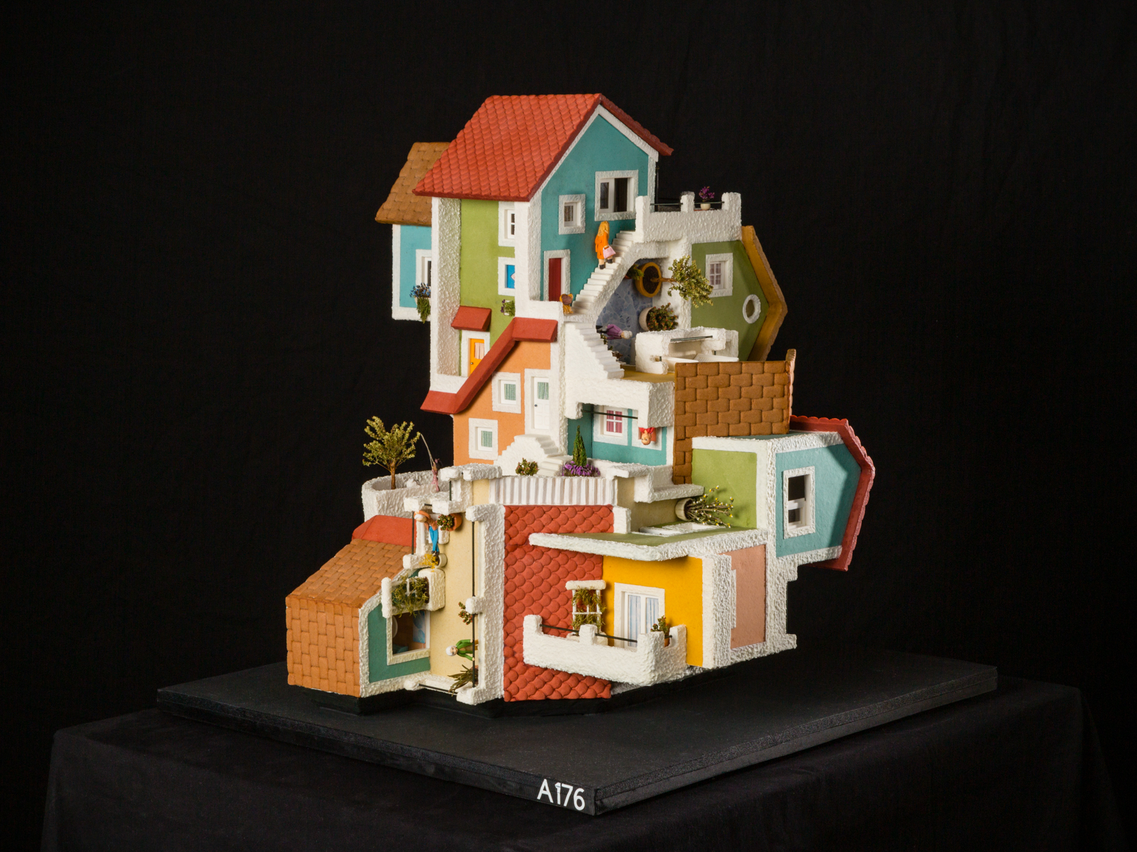 Family home National Gingerbread House Competition entry