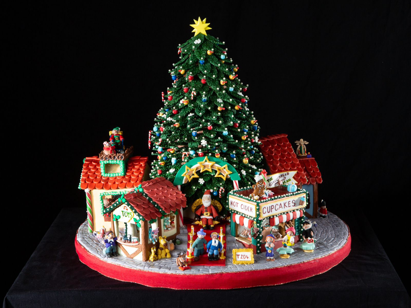 Christmas village National Gingerbread House Competition entry