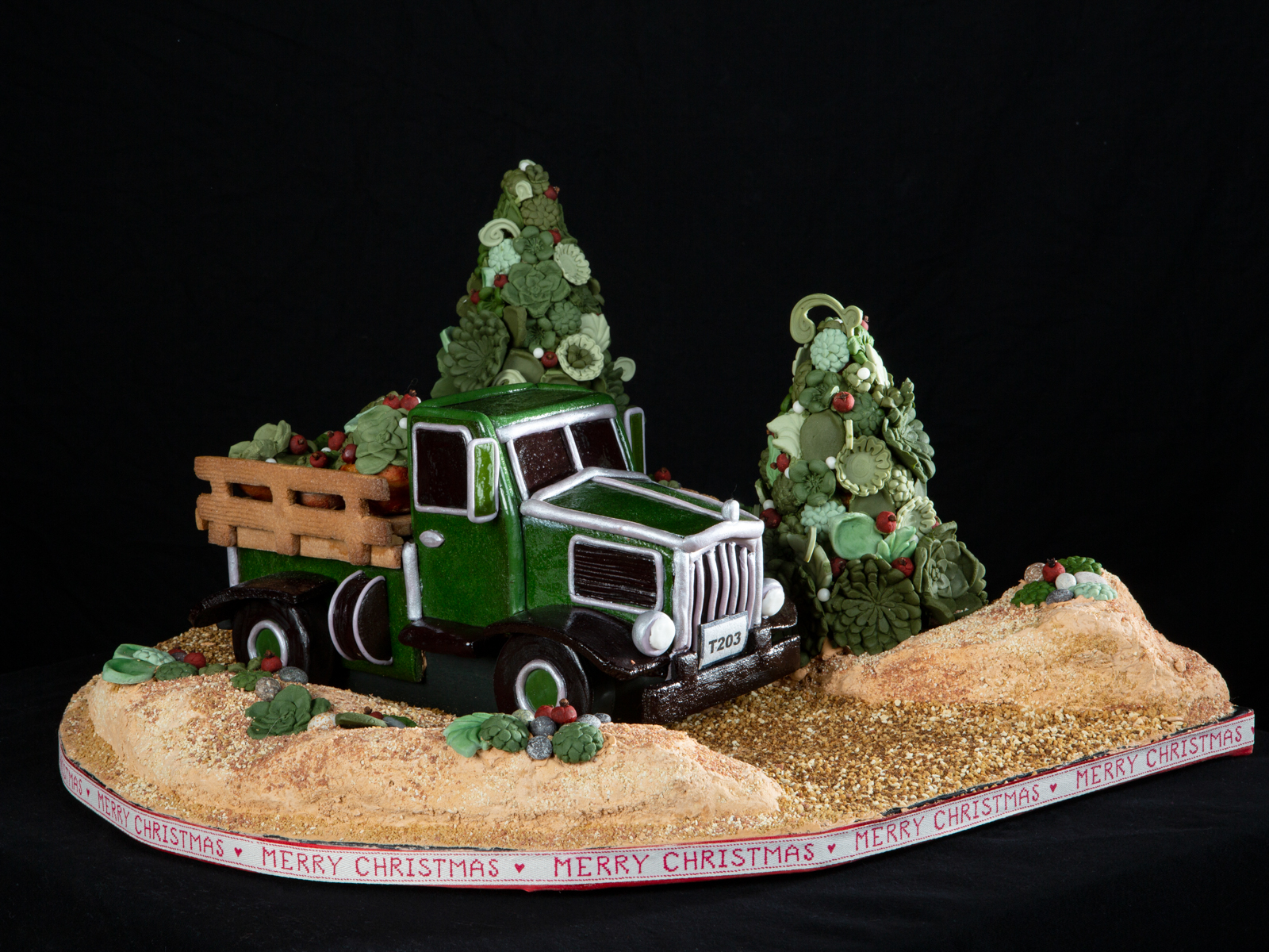 Tree Truck National Gingerbread House Competition entry
