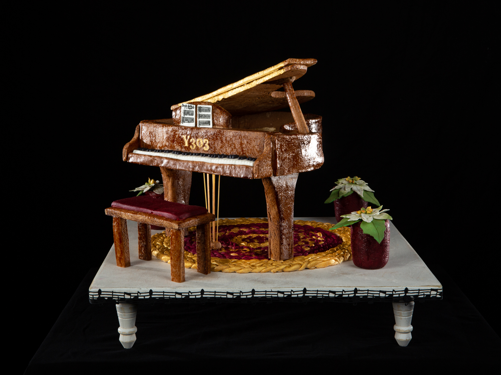 National Gingerbread House Competition entry