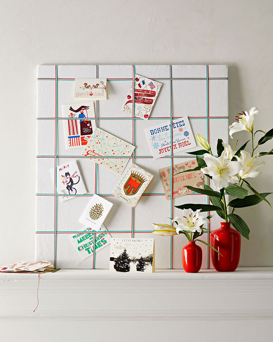 The Best Way to Display Your Holiday Cards
