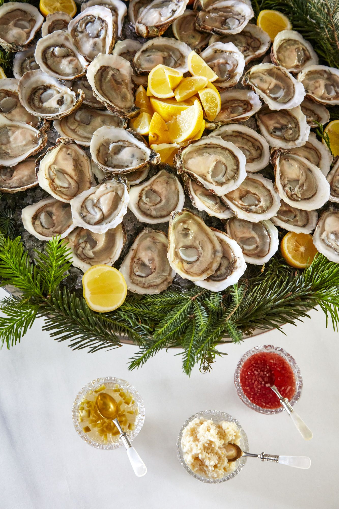 Oysters on the Half Shell, Martha's Holiday Cocktail Party