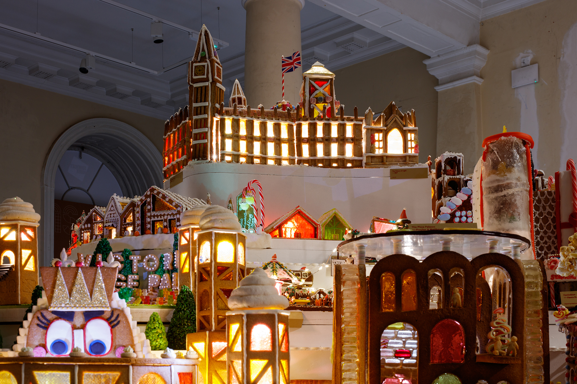 Feast Your Eyes on This Miniature City Made Entirely of Gingerbread