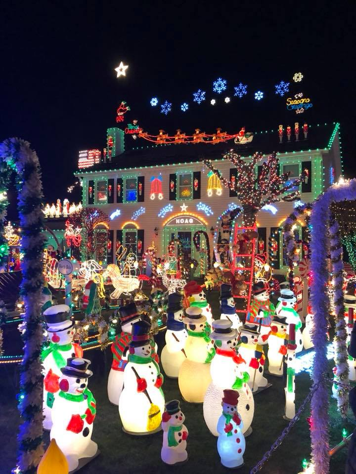 Christmas Lights in Ohio
