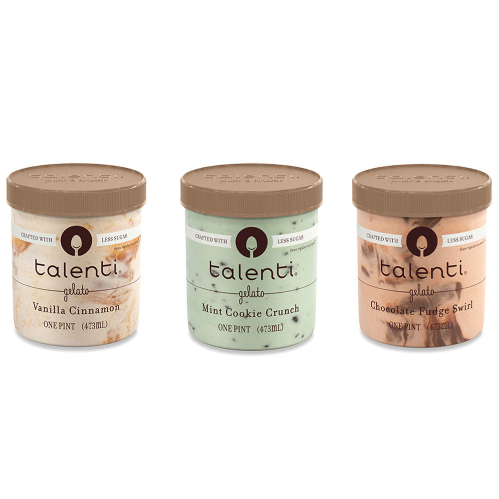 talenti low-sugar healthy ice cream