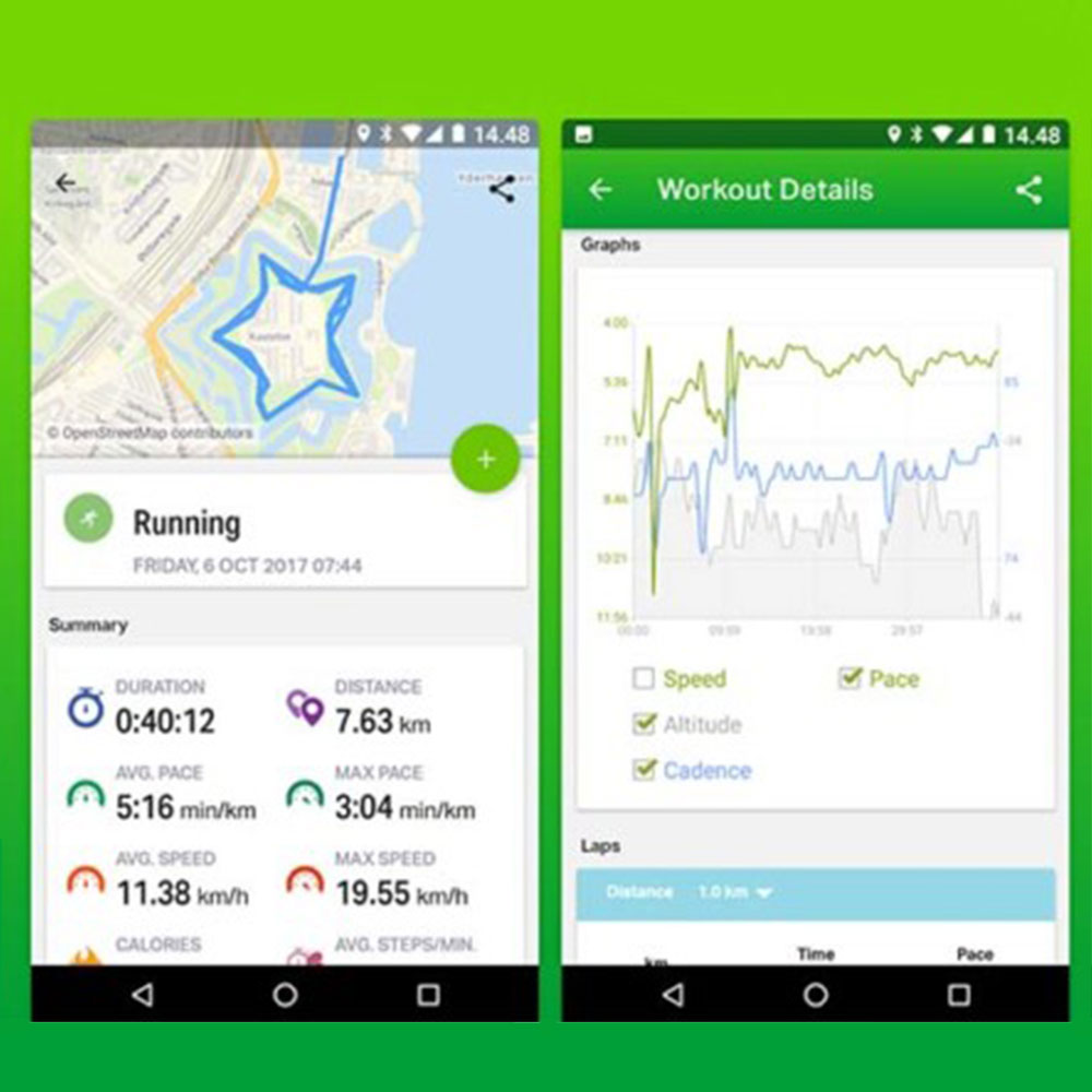 best free running apps for iphone