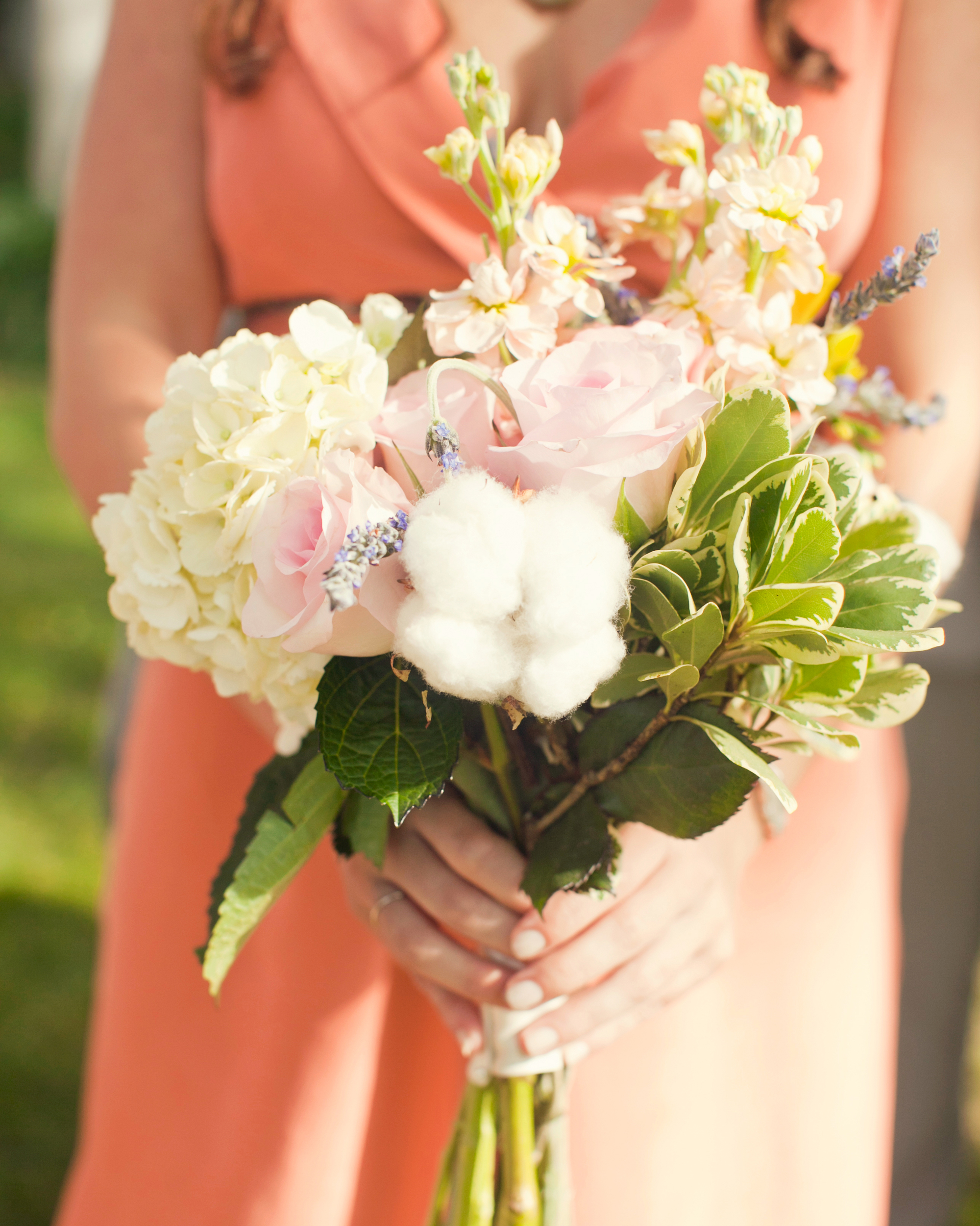 The Bridesmaids' Bouquets