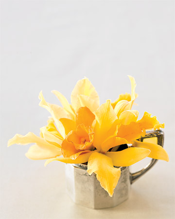 Mini Yellow Centerpiece