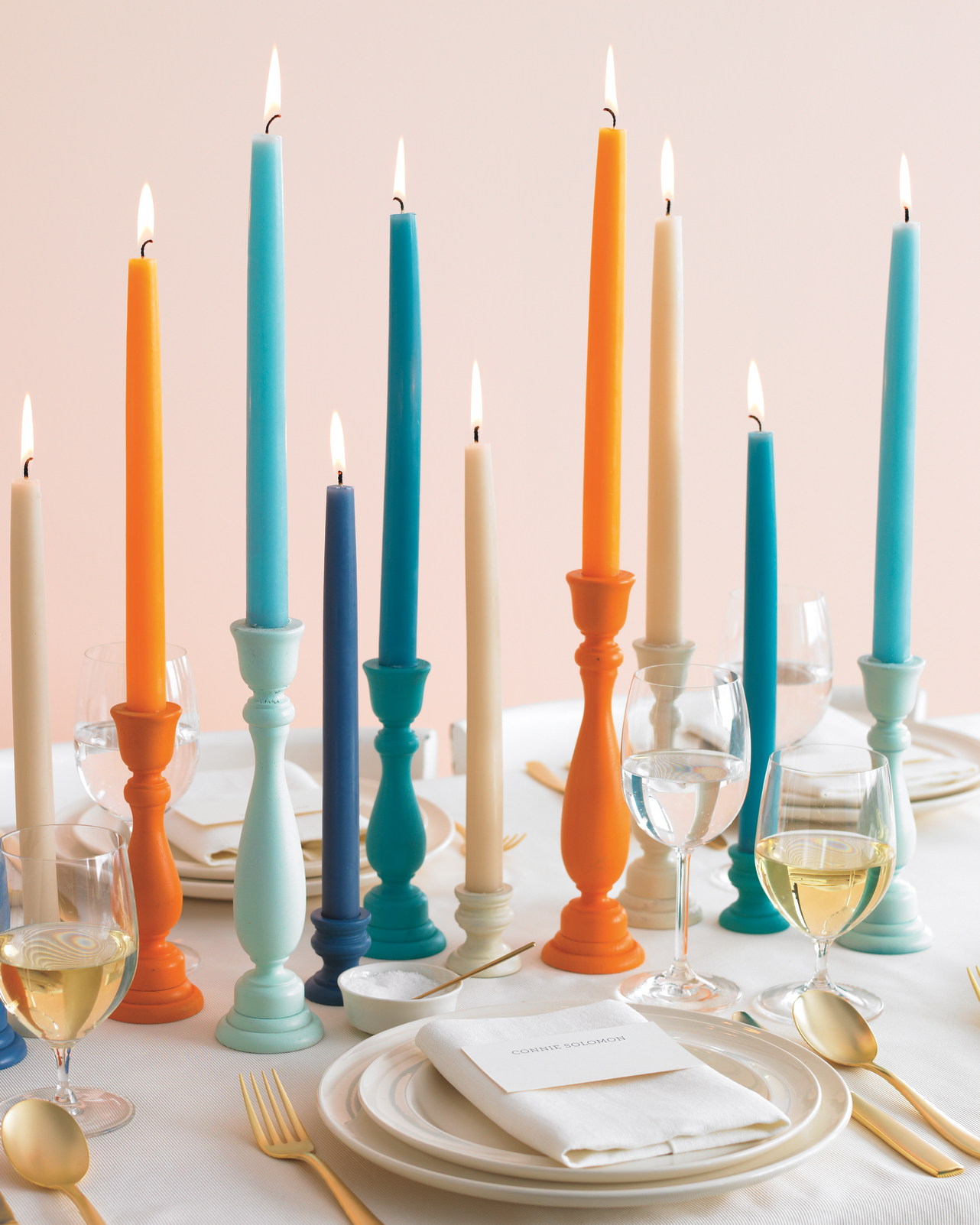 Colorful Candleholders