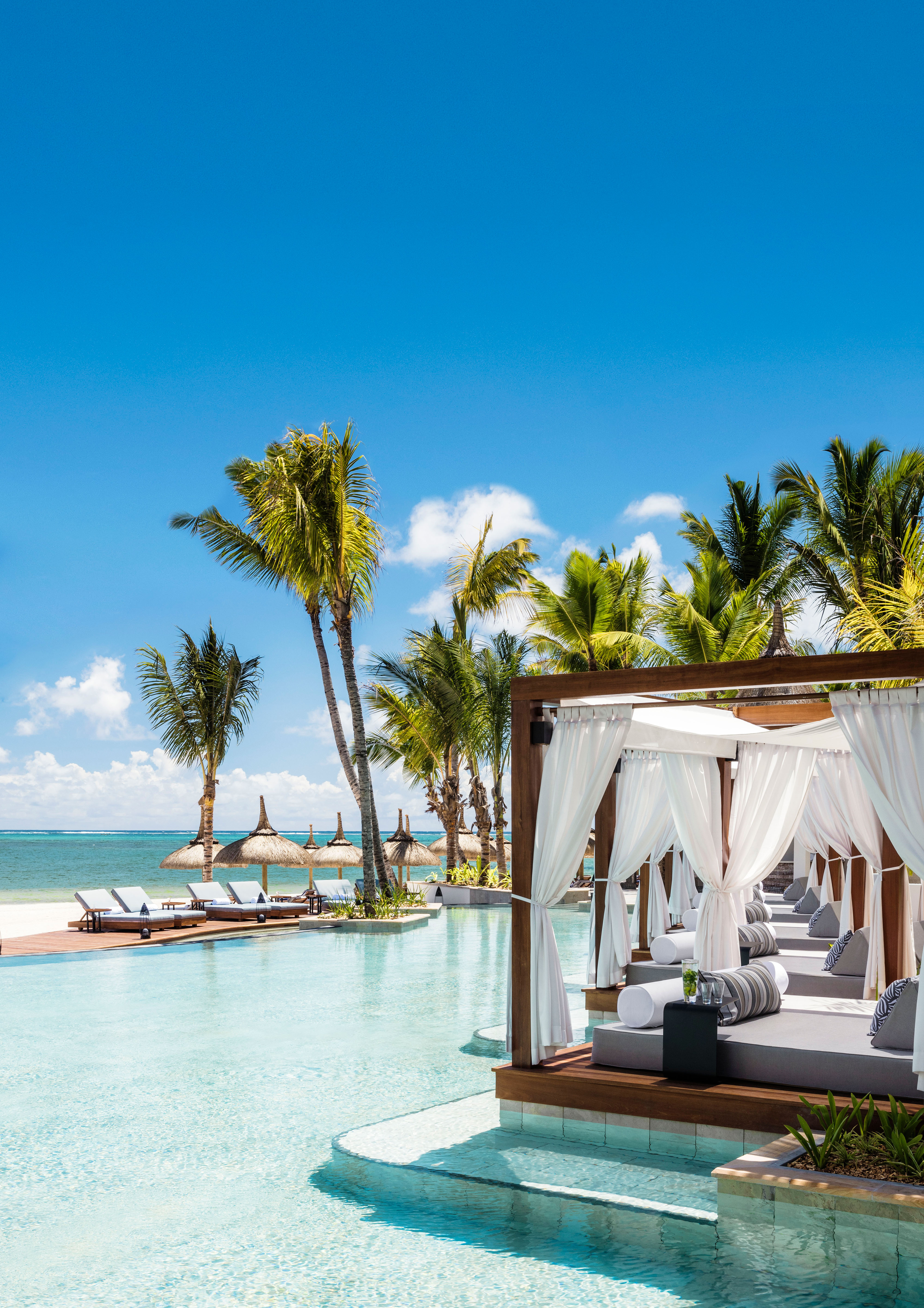 best beach honeymoons le saint geran la pointe