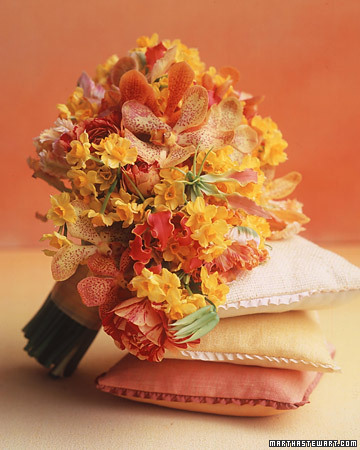 Fiery Hued Bouquet