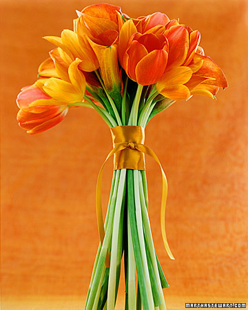 Simple Orange Bouquet