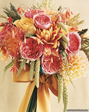 Sun-Kissed Wedding Bouquet